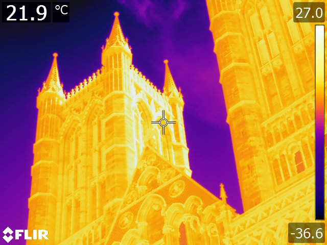 Thermal Image - Cathedral