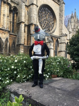 Cathedral Lincoln Imp to appear at Lincs Show